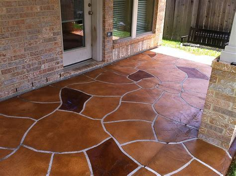 Houston Stained Concrete Contractor Company   Polished