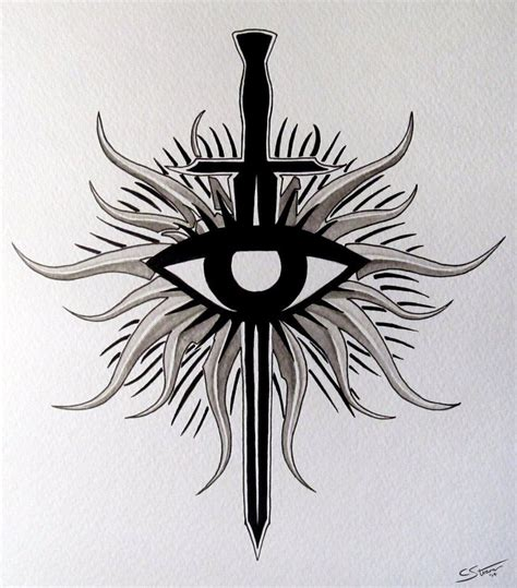 dragon age tattoos age inquisition symbol ideas