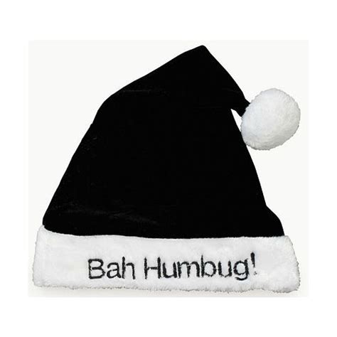 black bah humbug santa hat 4638 9 99 zen cart
