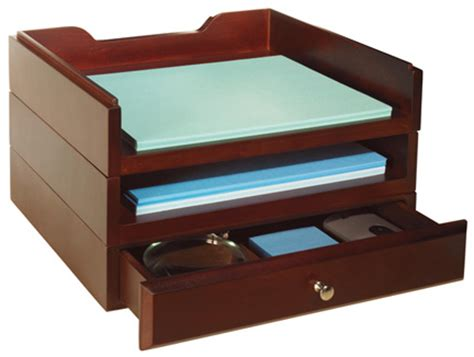 Stacking Drawers Wood by Wood Options Starter Kit V Stacking Trays And Drawer Combo