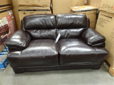 Simon Li Leather Sofa Costco Simon Li Leather Loveseat