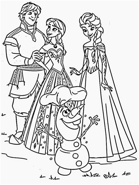 Disney Frozen Coloring Pages Coloring Page Frozen