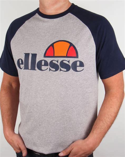 Tshirt Ellesse New One Tshirt ellesse cassina raglan t shirt grey navy crew neck