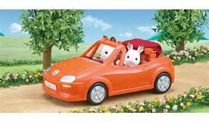 The Toasters Sylvanian Families Convertible Car Kids George At Asda