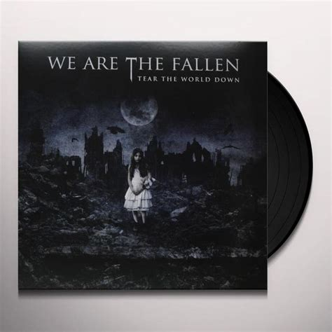 Evanescence Vinyl Record - we are the fallen tear the world vinyl record