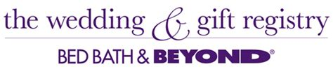 bed bath and beyond gift registry thunk news weddings thunk media inc