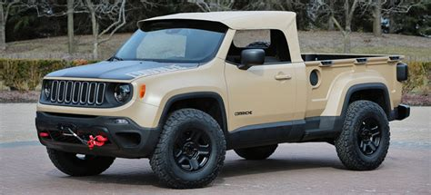 This Would Be The 2016 Jeep Comanche
