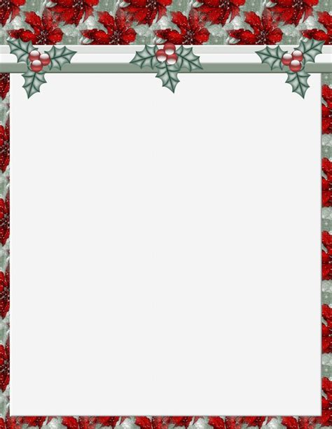 christmas html layout free stationery templates word best template idea