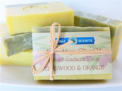 Handmade Soap Michigan - cedarwood orange soap handmade michigan