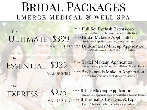 bridal makeup packages makeup wordplaysalon