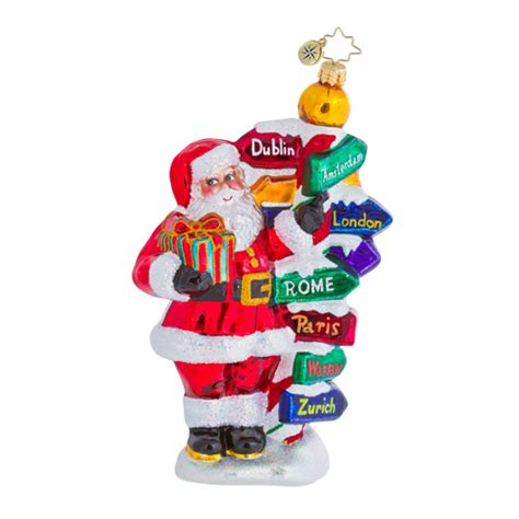 christopher radko ornaments 2015 radko travel christmas