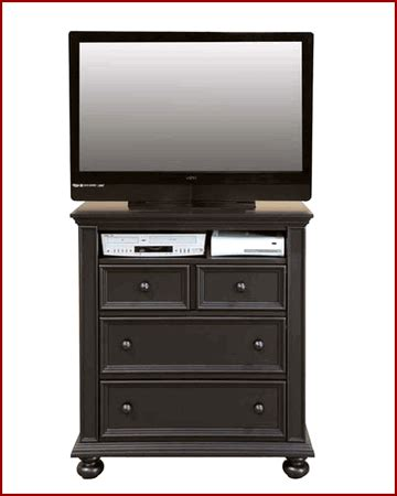 height of tv in bedroom winners only bedroom height tv chest cape cod in ebony wo be1007tv