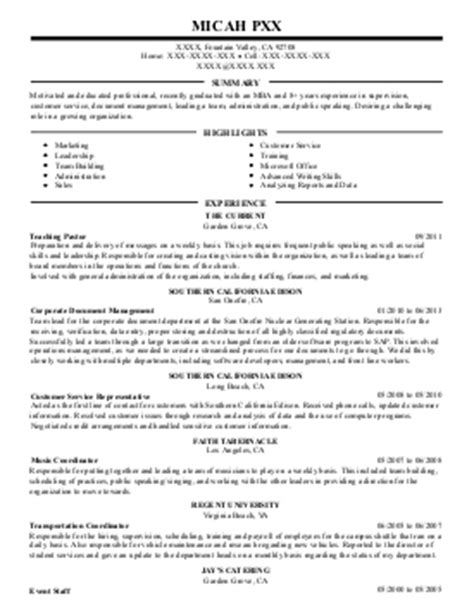 senior registered client service associate resume exle ubs financial services inc
