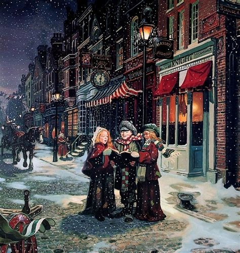 victorian christmas carolers christmas photo 4217580