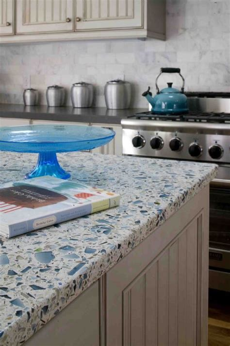 Recycled Glass Countertops Vs Granite by The World S Catalog Of Ideas