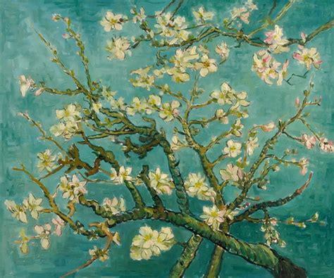 gogh fiori vincent gogh mandorlo in fiore dipinto olio su tela