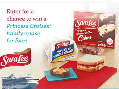 Www Princess Com Sweepstakes - the sara lee snacks princess cruises sweepstakes sweepstakes fanatics