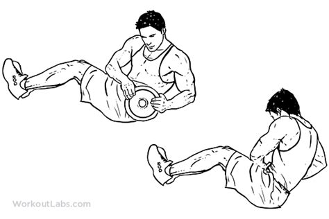 decline bench russian twist 5 workouts for hard core abdominals weakness is a choice