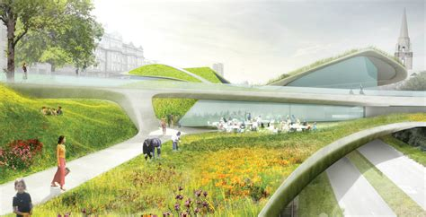 Learning Gardens by Diller Scofidio Renfro Selected To Transform The Center