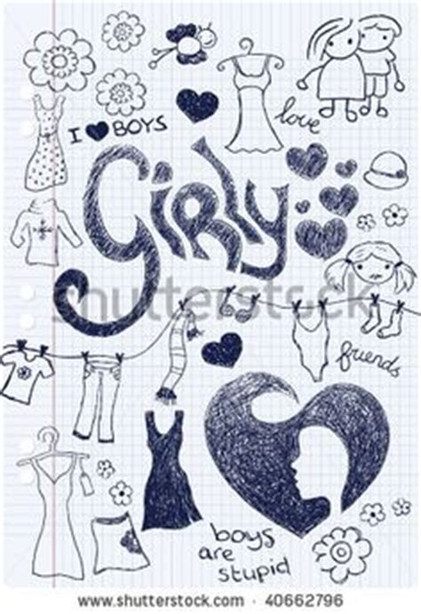 girly doodle ideas girly doodling ideas www pixshark images galleries