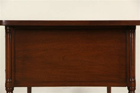 writing desk with file drawer sold executive vintage mahogany library writing desk