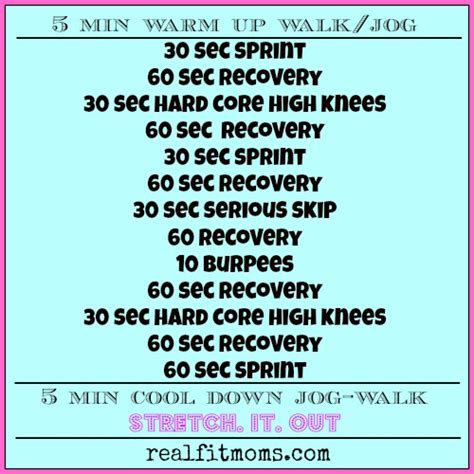 workout wednesday 20 min hiit real fit