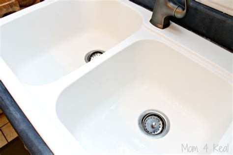 how to clean porcelain sink scratches how to clean a ceramic sink or porcelain sink mom 4 real