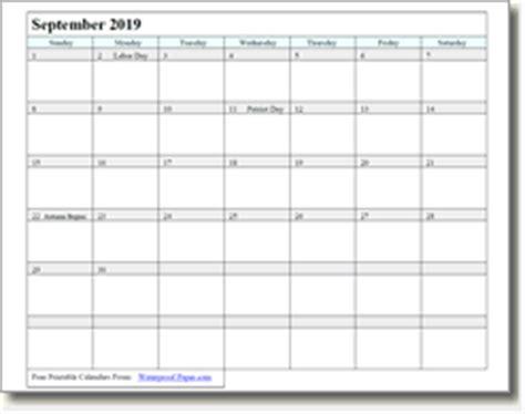 printable calendar 2017 waterproof paper september 2018 printable calendar print as many as you want