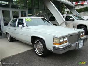 Cadillac 1989 Brougham 1989 Cotillion White Cadillac Brougham Sedan 36622021