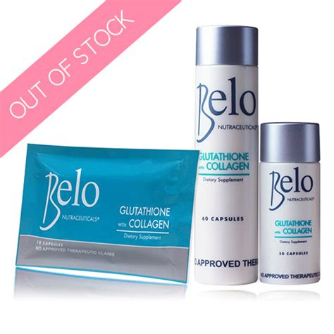 Glutathione Collagen belo nutraceuticals glutathione with collagen