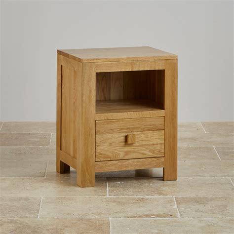 Small Bedside Unit Oakdale Solid Oak Bedside Table