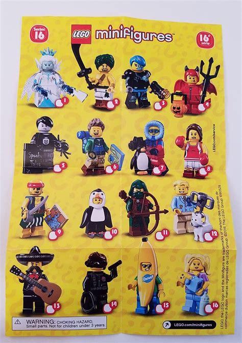 Lego Minifigure Series 16 Rogue kolekcionarske minifigure