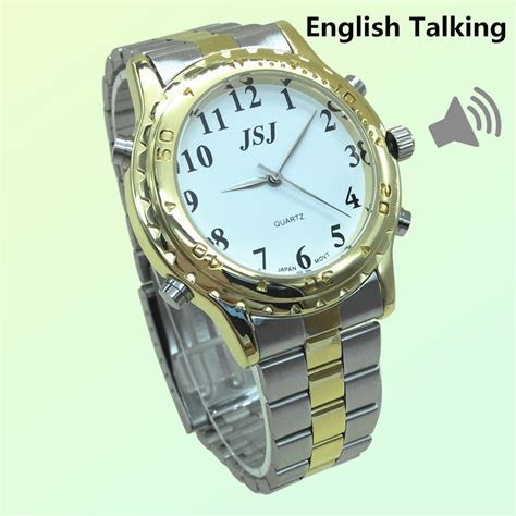 Watches For The Blind newest talking for the blind and elderly or visually impaired in lover s