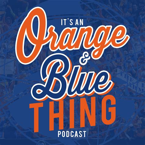 orange podcast themediagoon podcast it s orange and blue thing