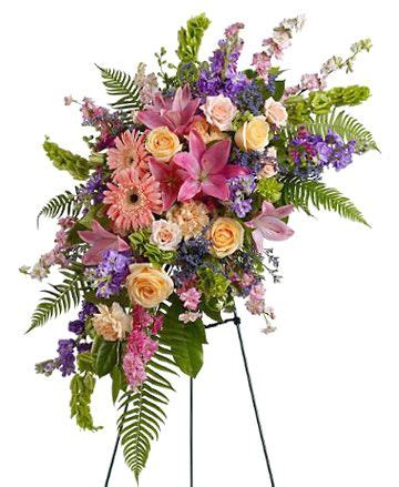 send sympathy funeral flowers in wellington fl blossom 17 best images about sympathy flowers on floral arrangements funeral flowers and easels