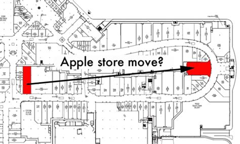 market mall floor plan market mall apple store in calgary set for expansion