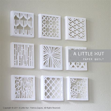 Cut Out Paper Crafts - 50 easy paper cutting crafts for beginners paper cutting