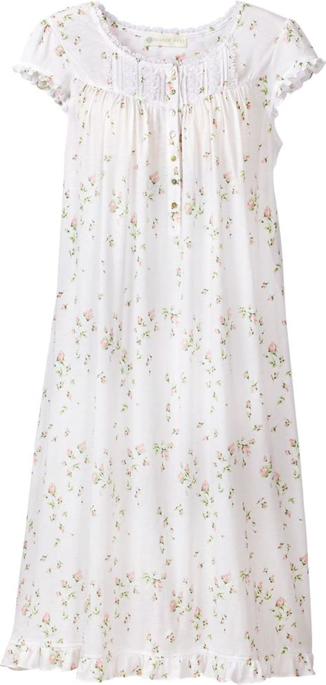 Baju Vintage Maxy Eileen West Rosebud Nightgown The Silkiest Knit We Could