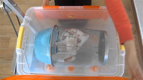 Handmade Washing Machine - ez laundry washer machine without electricity