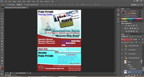 tutorial desain web menggunakan photoshop tutorial cara mendesain brosur menggunakan adobe photoshop
