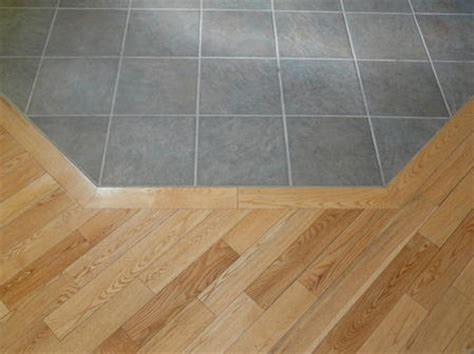 tile to wood transition gallery universal floor covering