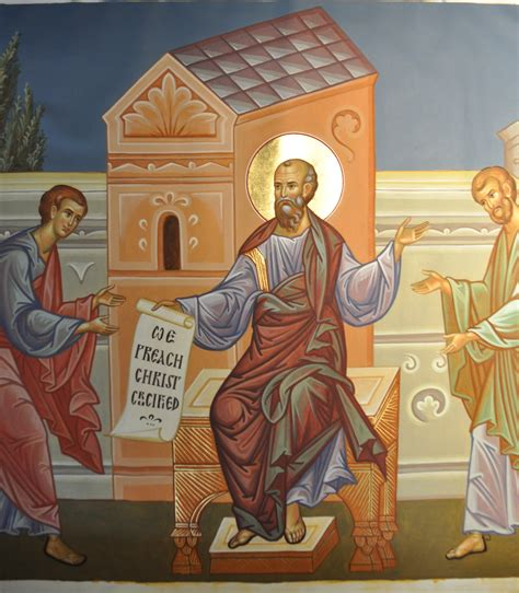Who Was Blinded On The Road To Damascus Patristics And Preaching Orthodox Ruminations
