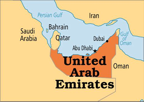united arab emirates map united arab emirates geography map