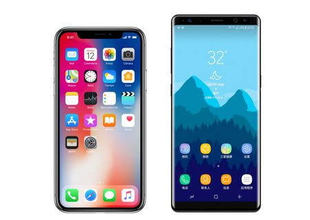 iphone themes for samsung galaxy y iphone x vs samsung galaxy note 8 comparativa de