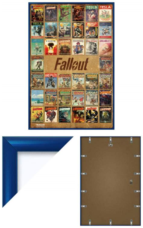 home decor magazines fallout 4 fallout 4 framed gaming poster print magazine cover