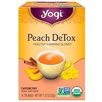 Yogi Detox Tea Caffeine by Yogi Tea Detox Caffeine Free 16 Tea Bags 1 12 Oz