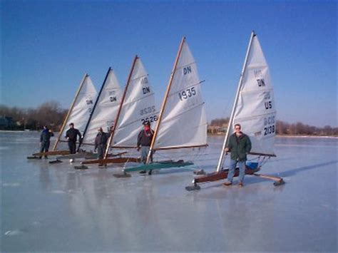 fan boat on ice about indianapolis sailing club