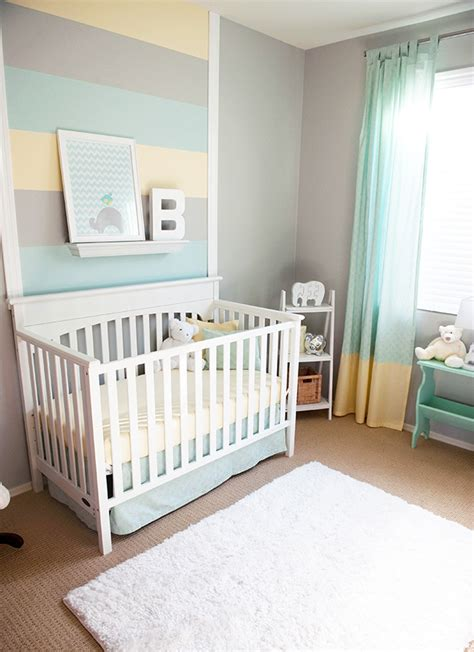 design reveal cool and calm nursery project nursery