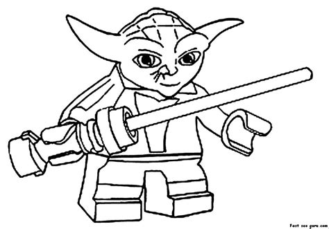 coloring pages star wars logo print out lego star wars yoda coloring pages star wars