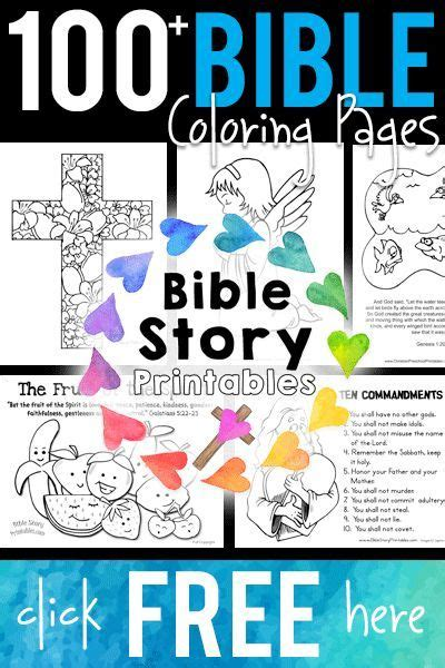printable bible coloring pages preschool bible